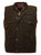 Outback Trading Co. Overlander Vest Mens Bronze 100% Cotton 12 Oz Oilskin