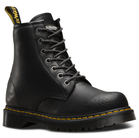 Dr Martens Black Industrial Bear Mens Service NS 7 Eye Boots
