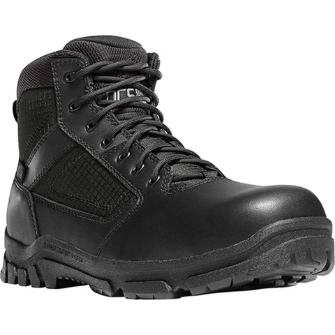 Danner Lookout Side-Zip 5.5in NMT Mens Black Leather Work Boots 23821