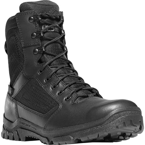 Danner Lookout 8in Mens Black Leather Waterproof Work Boots 23822