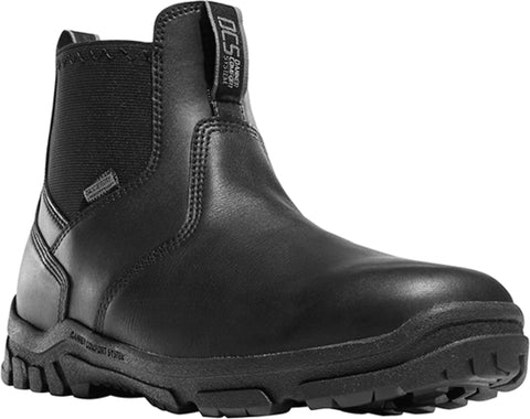 Danner Lookout Station Office Mens Black Leather WP NMT Uniform Boots