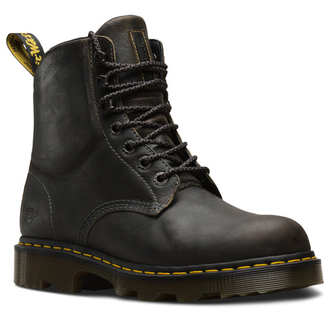 Dr Martens Black Unisex Crofton Greenland Leather Work Boots