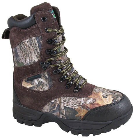 Smoky Mountain Childrens Boys Sportsman Camo Textile Hunting Boots