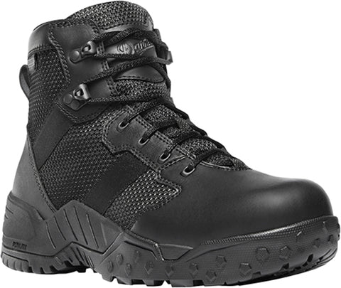 Danner Scorch Side-Zip Mens Black Textile 6in WP Military Boots