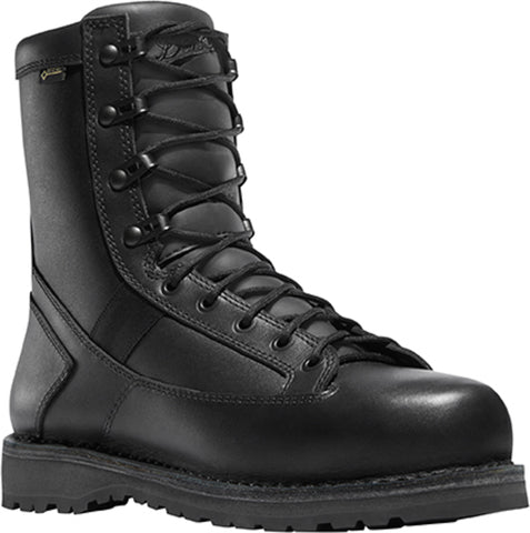 Danner Stalwart Side-Zip Mens Black Nylon/Leather GTX Uniform Boots