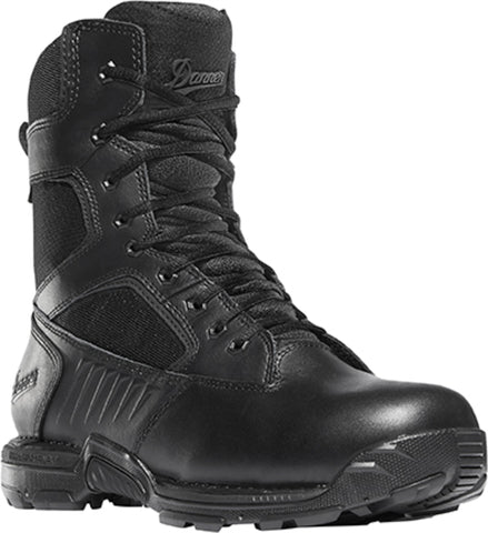 Danner Striker Bolt Side-Zip Mens Black Leather 8in GTX Tactical Boots