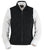 Outback Trading Co. Grand Prix M/S Vest Ladies Black Microsuede DWR Finish