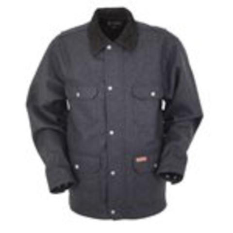 Outback Trading Co Passport Mens Jacket Black Wool Blend