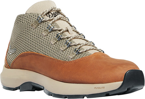 Danner Caprine Mens Taupe/Ginger Leather 4in Laceup Hiking Boots