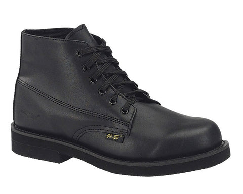 AdTec Boys Black Amish Boot Full Grain Leather Hiking