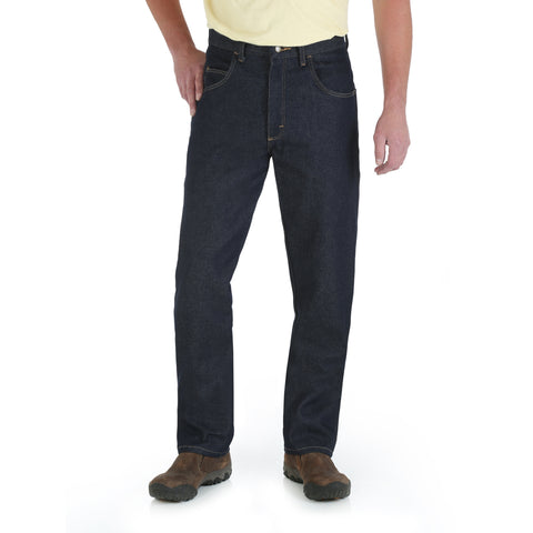 Wrangler Rugged Wear Mens Denim 100% Cotton Rigid Jeans