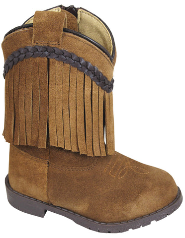 Smoky Mountain Boots Toddler Unisex Hopalong Brown Leather Fringe