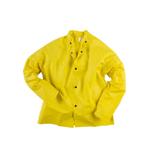 Neese Jacket with Attached Hood Yellow Neoprene Universal ChemGuard
