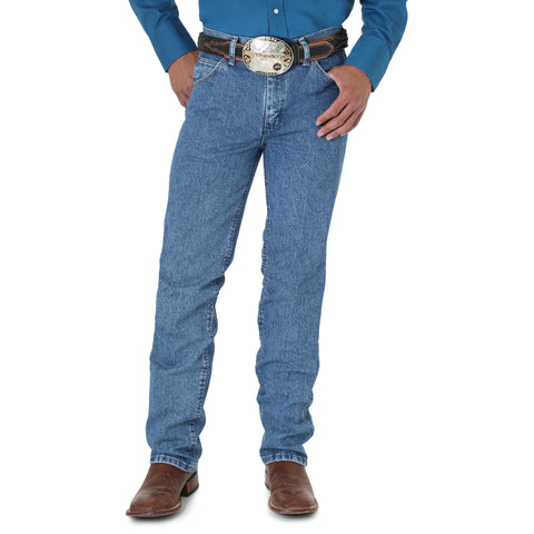 Wrangler Mens Stonewashed 100% Cotton Premium Performance Cowboy Jeans