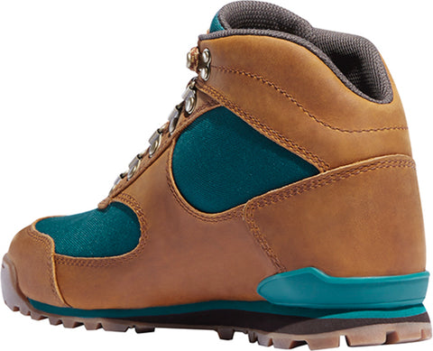 Danner Jag Womens Brown/Deep Teal Nylon/Leather WP DWR Casual Boots