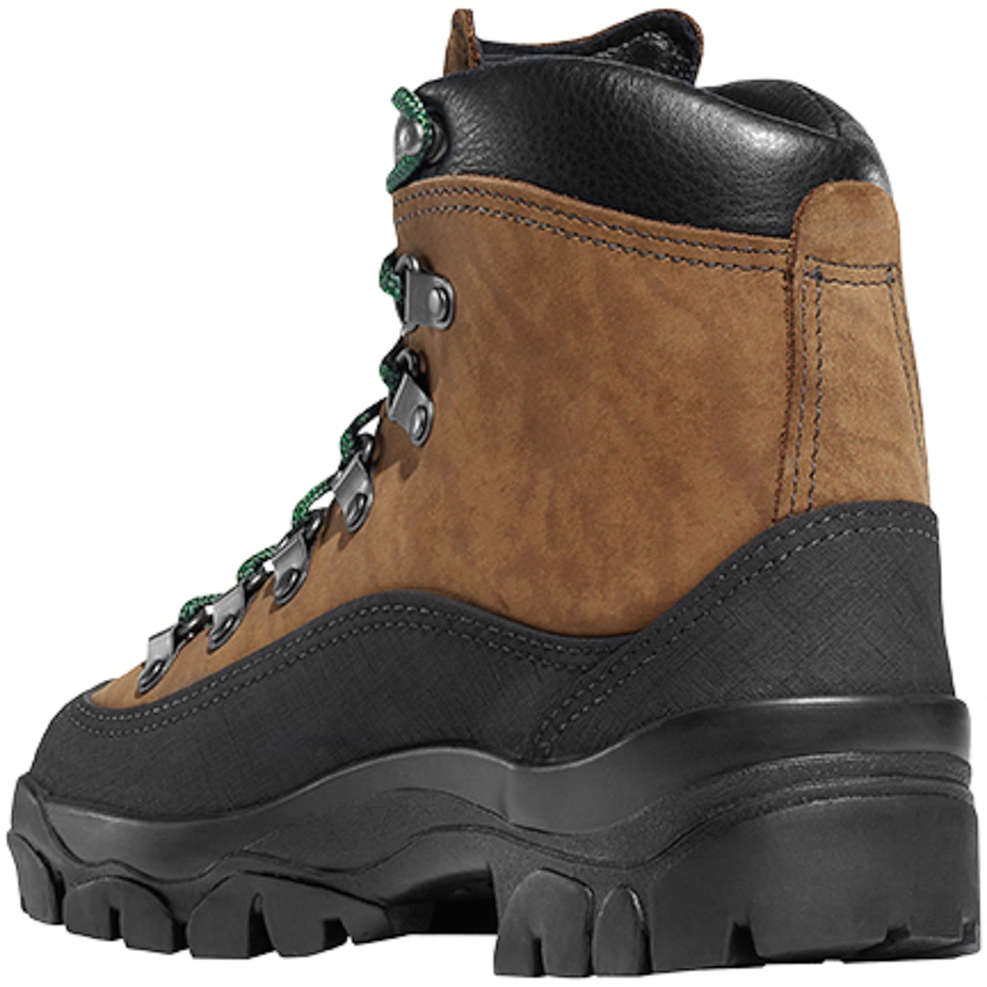 e7f58ace1bd Danner Crater Rim 6in Womens Brown Leather WP Hiking Boots 37414