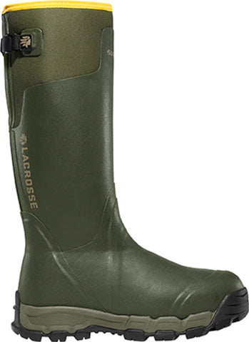 Lacrosse AlphaBurly Pro Mens Forest Green Rubber 18in 800G Hunting Boots