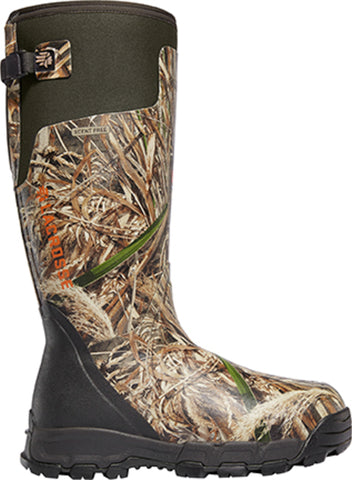 Lacrosse AlphaBurly Pro Mens Realtree Max5 Rubber 18in 800G Hunting Boots