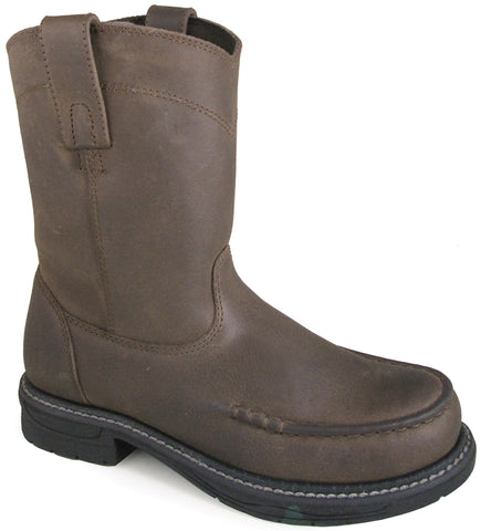 Smoky Mountain Youth Boys Augusta Brown Leather Cowboy Boots