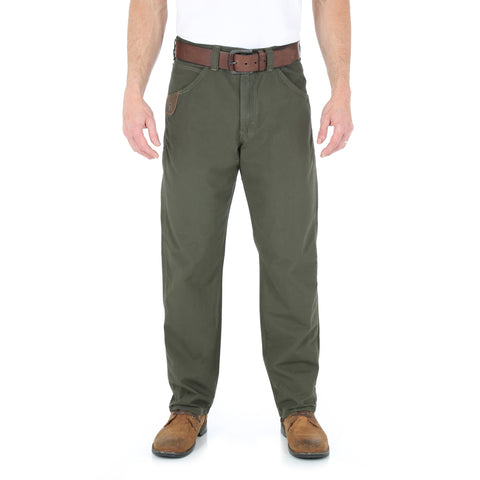 Wrangler Mens Loden 100% Cotton Technician Pant Jeans
