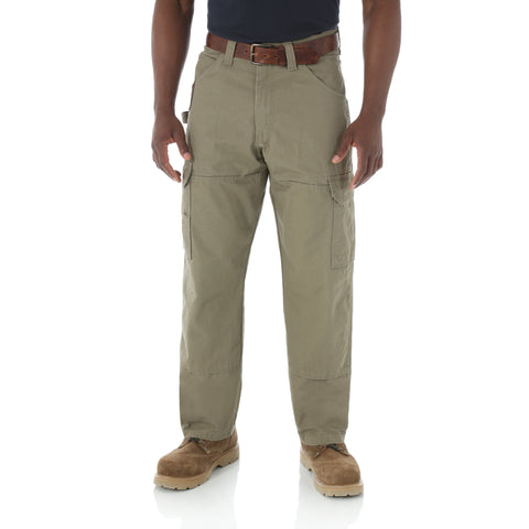 Wrangler Mens Bark 100% Cotton Ranger Pant Jeans