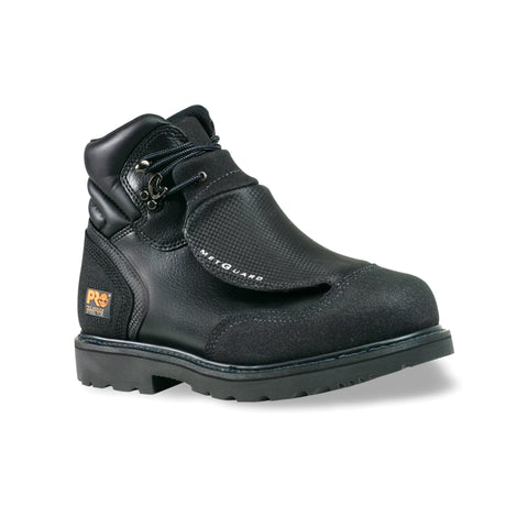 Timberland Pro External 6In Met Guard Womens Black Leather Work Boots