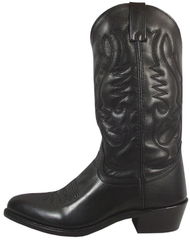 Smoky Mountain Boots Mens Denver Black Leather Basic Western