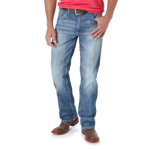 Wrangler Mens Light Blue 100% Cotton Jeans