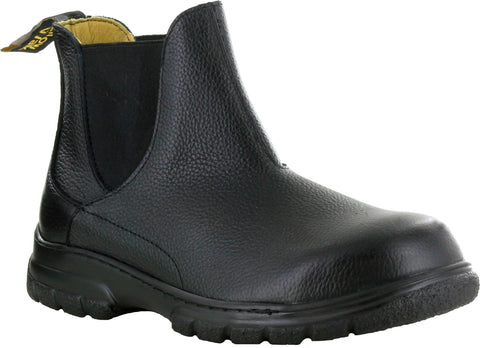 Mellow Walk Maddy Womens Black Leather Chelsea Boots
