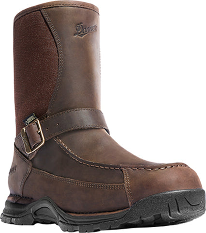 Danner Sharptail 10in Mens Dark Brown Leather Rear Zip GTX Hunting Boots