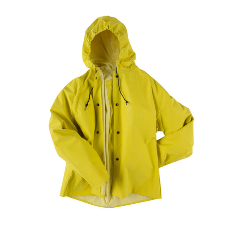 Neese Jacket with Attached Hood Yellow Neoprene Magnum 45