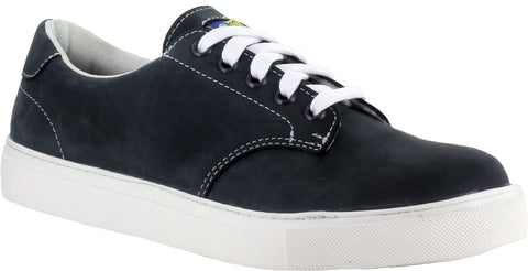 Mellow Walk Jessica Womens Black Leather Sneaker Shoes