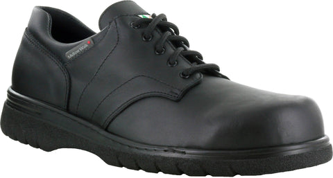 Mellow Walk Jack Mens Black Leather Oxford Shoes