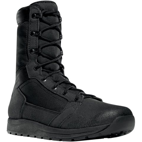 Danner Tachyon 8in Mens Black Faux Leather Military Boots 50120