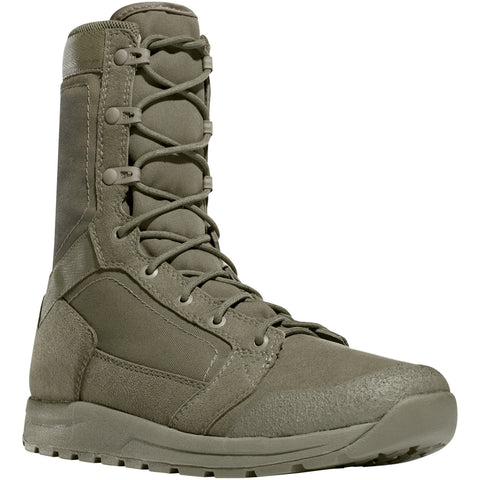 Danner Tachyon 8in Mens Sage Faux Leather Military Boots 50132