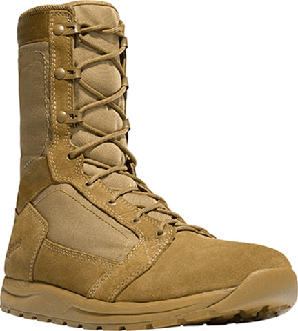 Danner Tachyon Mens Coyote Leather 8in Military Boots