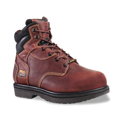 Timberland Pro 6In Flexshield Int Met Guard Mens Brown Leather Work Boots