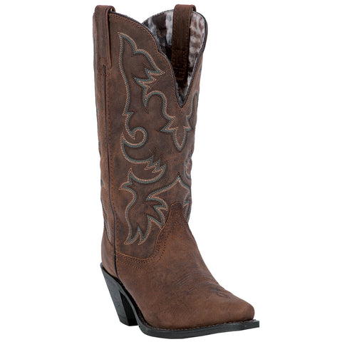 Laredo Womens Access Cowboy Boots Leather Tan