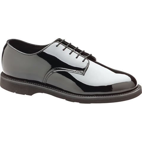 Thorogood Womens Poromeric Oxford Black Patent Footpacer Shoes