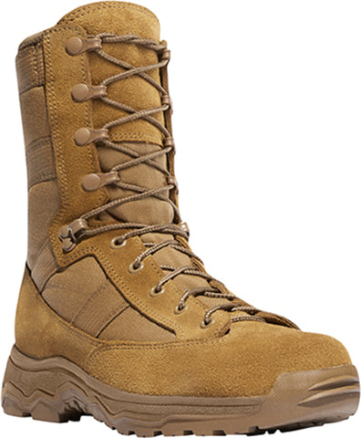 Danner Reckoning 8in Hot Mens Coyote Nylon/Leather Military Boots