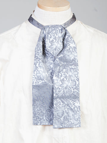 Scully Wahmaker Mens Blue 100% Silk Jacquard Scarf