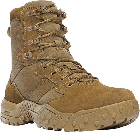 Danner Scorch Mens Coyote Suede 8in Military Boots