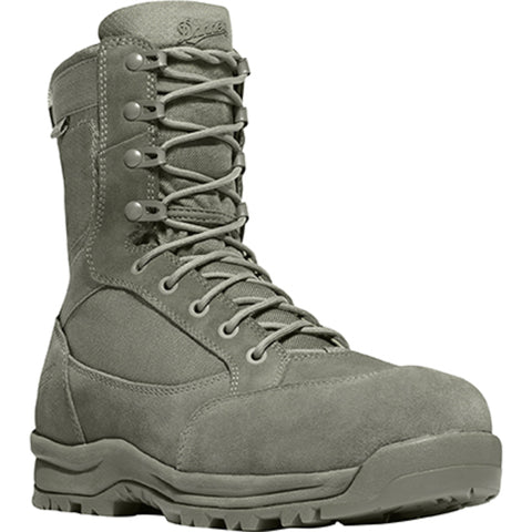 Danner Tanicus Dry NMT Mens Sage Green Leather Military Boots 55315