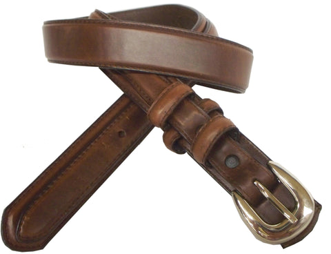 Danbury Mens Brown Leather Padded Ranger Belt