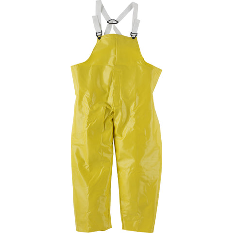 Neese Bib Trousers Yellow Ribbed PVC Dura Quilt 56