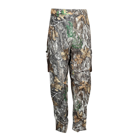 Rocky Mens Realtree Edge Polyester Silent Hunter Cargo Pants