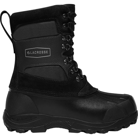 Lacrosse Outpost 2 Mens Black Leather 11in Foam Snow Boots