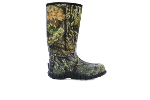 Bogs Mens Mossy Oak Rubber/Nylon Classic High WP Hunting Boots