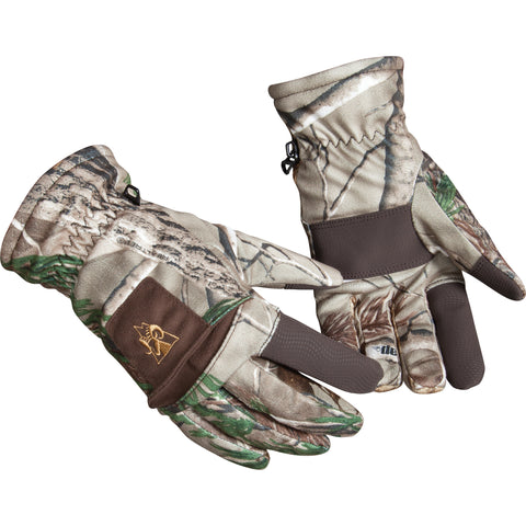 Rocky Junior Unisex Realtree Xtra Micro-Suede Fabric Prohunter Gloves