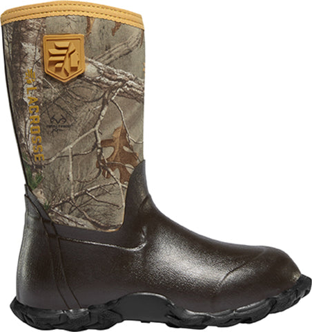 Lacrosse Lil Alpha Lite Mens Realtree Xtra Rubber 5mm Hunting Boots